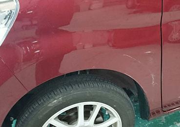 フェンダーの板金塗装・修理